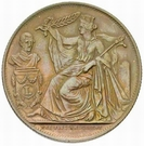 5 Centimes - Leopold I (25th anniversary of the inauguration; Dutch) – obverse