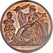 Module de 5 centimes Léopold I  (1856) – avers