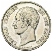 5 Francs - Léopold I (Marriage of The Duke) – obverse