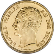 100 Francs- Léopold I (Duke of Brabant's Wedding) – obverse