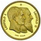 100 Francs - Léopold II (50 Years of Belgium) – obverse