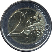 2 Euro (Child Focus) – reverse