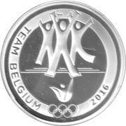 10 Euro (Team Belgium) – obverse