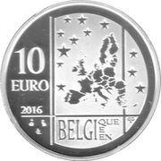 10 Euro (Team Belgium) – reverse