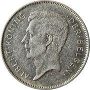 4 Belga / 20 Francs - Albert I (Dutch text) -  obverse