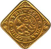 1 Frank - Albert I (Ghent - German Occupation Coinage) – obverse