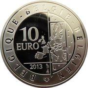 10 Euro - Albert II (Hugo Claus) – obverse