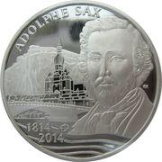 10 Euro - Philippe (Adolphe Sax) – obverse