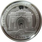 10 Euro (Centennial of WWI) – obverse