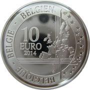 10 Euro (Centennial of WWI) – reverse