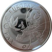 10 Euro (70 years of peace in Europe) – obverse