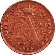 1 Centime - Albert I (Dutch text) – obverse