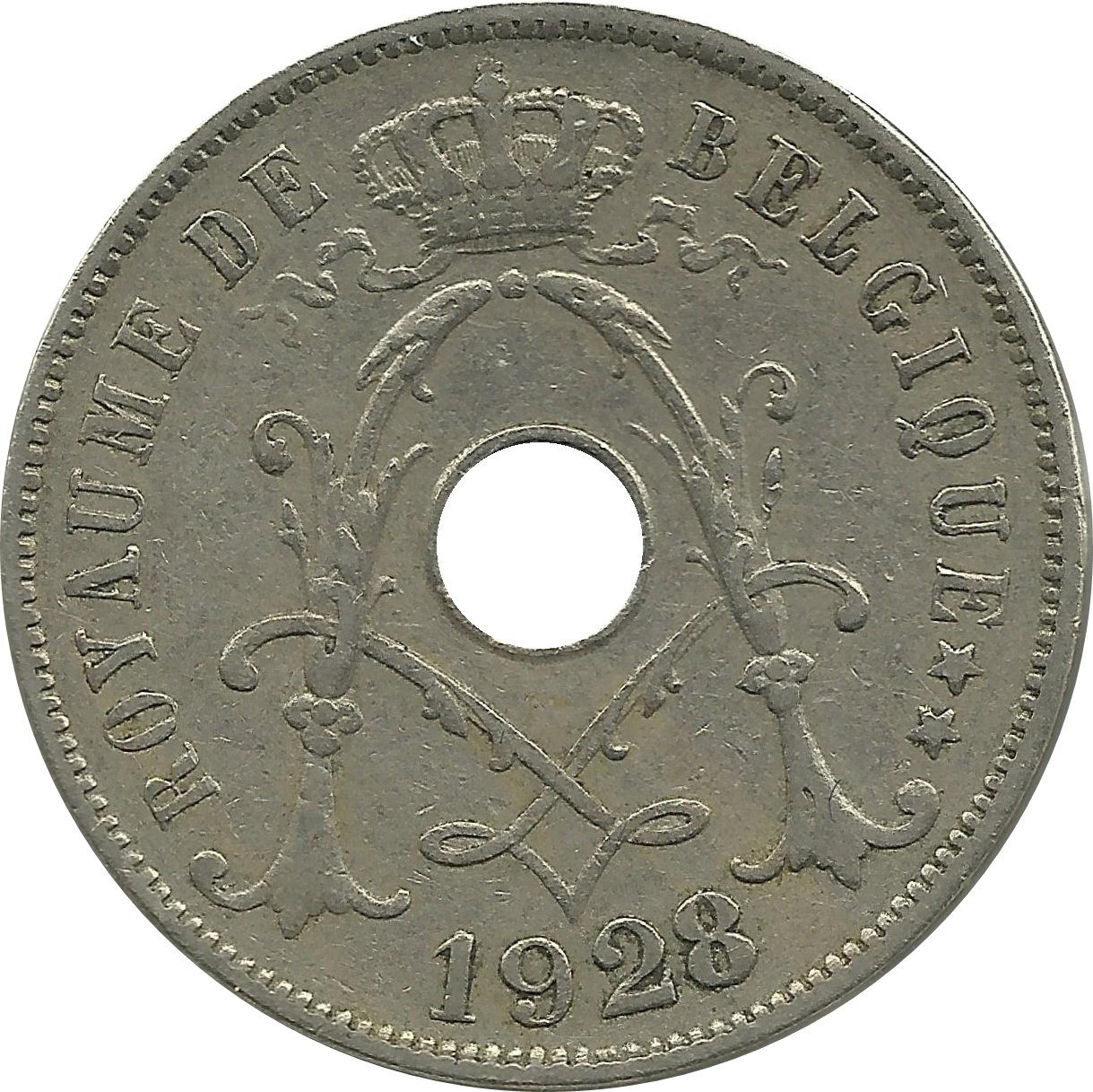 Old France Coin Circulated 1926 5 Centimes