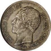 2 Francs - Leopold I (Trial strike) – obverse
