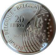 20 Euro - Philippe (70 Ans de Paix en Europe) – reverse