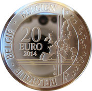20 Euro - Philippe (Berlin Wall) – reverse