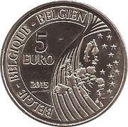 5 Euro (Mons) – obverse