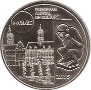 5 Euro (Mons) – reverse