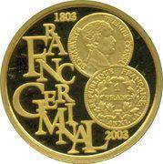100 Euro - Albert II (Franc Germinal) – obverse