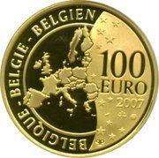 100 Euro - Albert II (Belgian Coins) – reverse