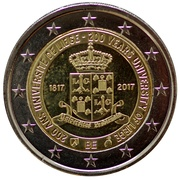 2 Euro - Philippe (200 years of the University of Liège) -  obverse