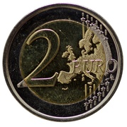 2 Euro - Philippe (200 years of the University of Liège) -  reverse