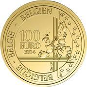 100 Euro - Philippe (Andreas Vesalius) – reverse