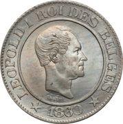 20 Centimes - Léopold I (Pattern) – obverse