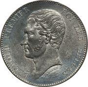 5 Francs - Léopold I (Pattern) – obverse