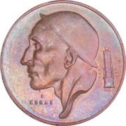 20 Centimes - Baudouin I (Essai) – obverse