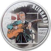 10 Euro - Albert II (Django Rheinhardt) – reverse