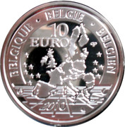 10 Euro - Albert II (African Museum) – obverse