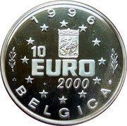10 Euro (Johanna Castiliensis) – obverse