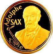 50 Euro - Albert II (Adolphe Sax) – obverse