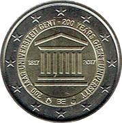 2 Euro - Philippe (200 years of the University of Ghent) – obverse