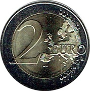 2 Euro - Philippe (200 years of the University of Ghent) – reverse