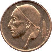 50 Centimes - Baudouin I (Dutch text) -  obverse