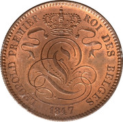 10 Centimes - Léopold I – obverse
