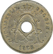 10 Centimes - Albert I (Dutch text) – obverse