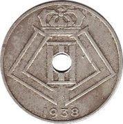 25 Centimes - Léopold III (BELGIE-BELGIQUE) -  obverse