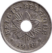 50 Centimes (German Occupation Coinage) -  obverse