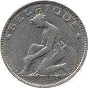 2 Francs - Albert I (French text) – obverse