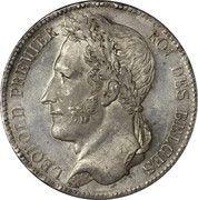 5 Francs - Léopold I -  obverse