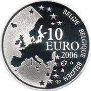 10 Euro - Albert II (Justus Lipsius) – obverse