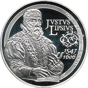 10 Euro - Albert II (Justus Lipsius) – reverse