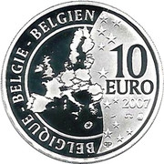 10 Euro - Albert II (Treaty of Rome) – obverse