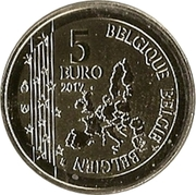 5 Euro - Philippe (Gaston Lagaffe) – obverse