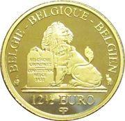 12½ Euro (Reine Mathilde) – obverse