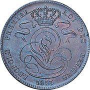 5 Centimes - Léopold I – obverse