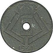 5 Centimes - Léopold III (BELGIQUE-BELGIE) -  obverse